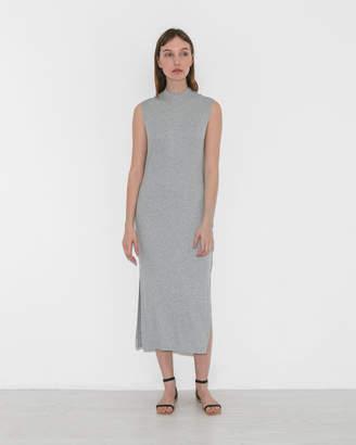 Nomia Mock Neck Maxi Dress