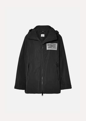 Burberry Perspex-trimmed Shell Jacket - Black