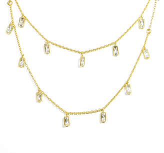 Electric Picks Semi-Charmed 2 Layer Necklace
