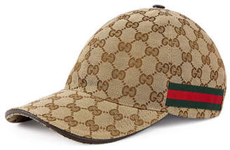 Gucci Men's GG Canvas Baseball Hat $320 thestylecure.com