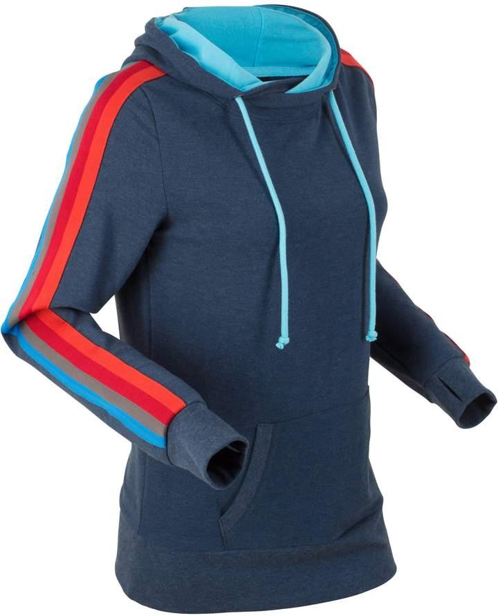 bpc bonprix collection Leichtes Langarm-Sweatshirt mit Multicolor-Tape