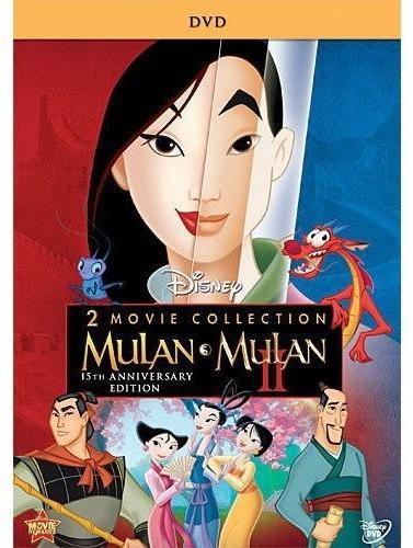 """Disney """"Mulan Mulan II"""" 2-pack DVD"""