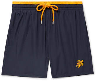 Vilebrequin Mokami Mid-Length Embroidered Swim Shorts