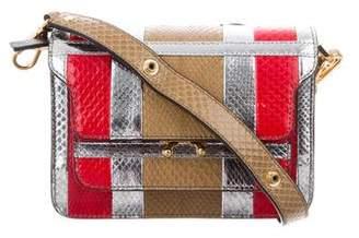 Marni Trunk Mini Python Bag