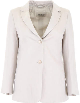 Max Mara S Here Is The Cube S Here is The Cube Cotton Blazer