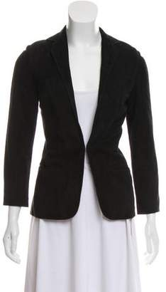 Barneys New York Barney's New York Notched Lapel Semi-Structured Blazer