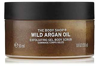 The Body Shop Wild Argan Oil Exfoliating Gel Body Scrub