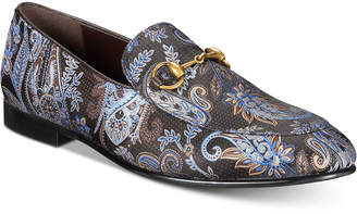 Tallia Men's Lorenzo Moc-Toe Bit Paisley Loafers Men's Shoes