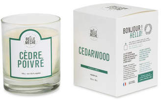 LaBelle Meche Cedarwood Scented Candle, 190 g