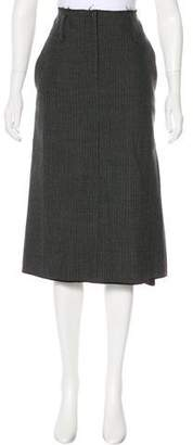 Marc Jacobs Wool Midi Skirt