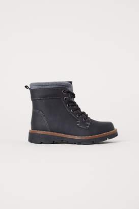 H&M Fleece-lined Boots - Black