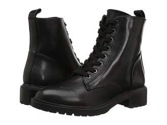 Steve Madden Officer Combat Boot Women's Lace-up Boots