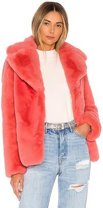 KENDALL + KYLIE Faux Fur Coat