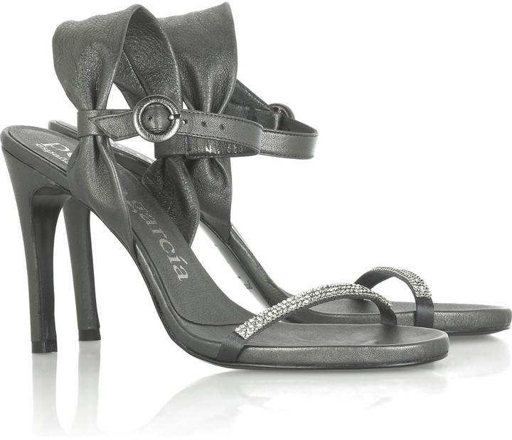 Pedro Garcia Arabella crystal sandals