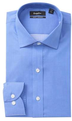 ESQ Stripe Slim Fit Dress Shirt