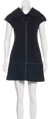 Balenciaga Wool Shift Dress