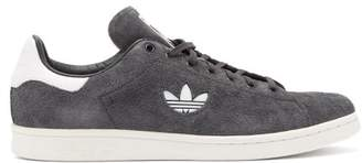 adidas Stan Smith Low Top Suede Trainers - Mens - Black