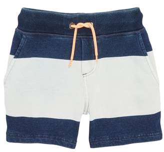 Boden Mini Embroidered Jersey Shorts