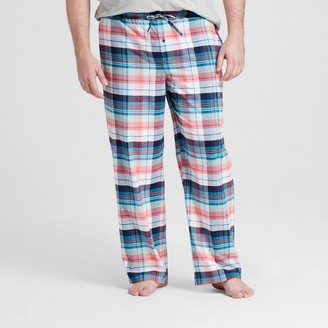 Merona Men's Woven Sleep Pants Big and Tall Red $17.99 thestylecure.com