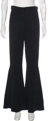 Versace High-Rise Flared Pants