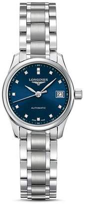 Longines Master Collection Watch with Diamonds, 25.5mm