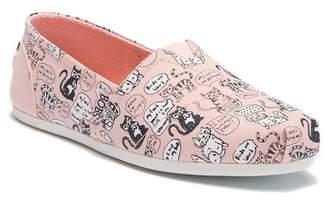 Skechers Bobs Plush Quilted Slip-On Sneaker