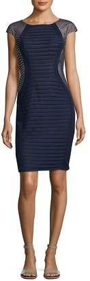 Jax Women's Pleated Sheath Dress