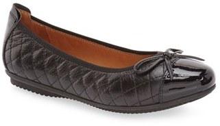 Women's Josef Seibel 'Pippa 25' Cap Toe Flat $114.95 thestylecure.com