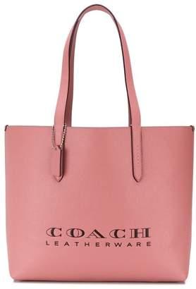 Coach logo tote bag