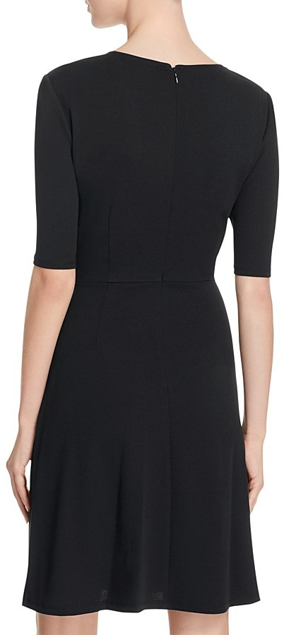 Adrianna Papell Mock Wrap Jersey Dress 2