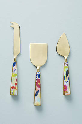 Anthropologie Sola Cheese Knives, Set of 3