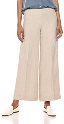 Theory Women's Cropped Terena Wide Leg Pant