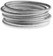 Nordstrom Diamond Cut Tube Bangle Bracelet