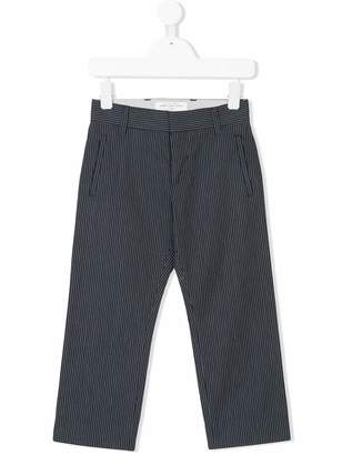John Galliano striped tailored trousers
