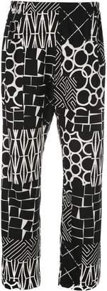 Zero Maria Cornejo all-over print trousers