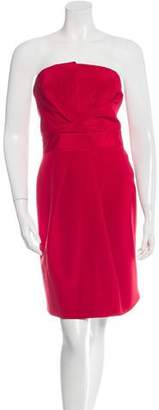 DSQUARED2 Silk Strapless Dress