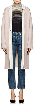 Giorgio Armani Women's Double-Faced Cashmere-Blend Coat - Pink