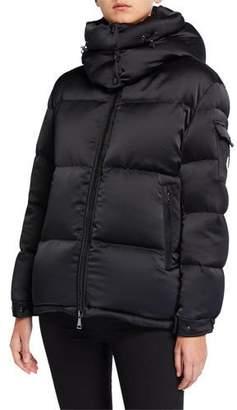 Moncler Wil Puffer Coat w/ Detachable Hood