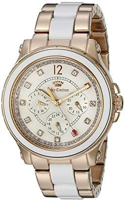 Juicy Couture Women's 1901303 Hollywood Analog Display Quartz Rose Gold Watch $275 thestylecure.com