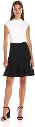 Ted Baker Women's Demore Flared Skirt Detail Dress