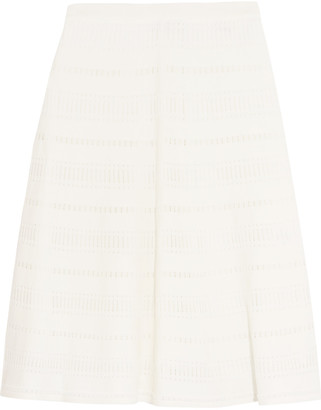 Sandro Janis knitted skirt $275 thestylecure.com