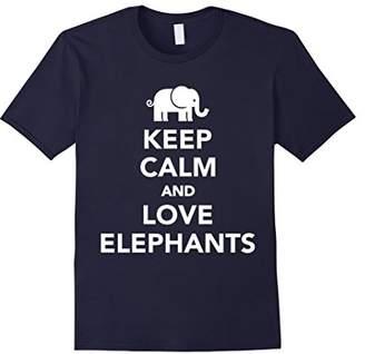 Keep Calm and Love Elephants T-shirt