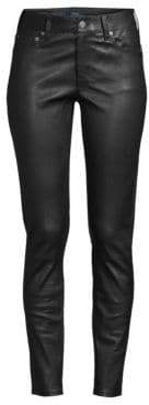 Polo Ralph Lauren Skinny Leather Leggings