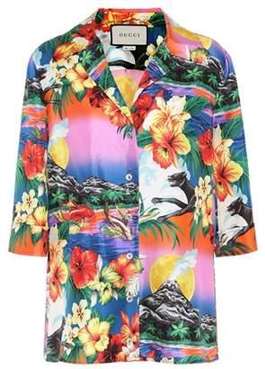 Gucci Silk Hawaiian shirt