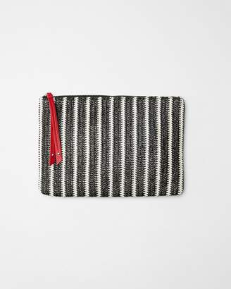 Express Striped Pouch
