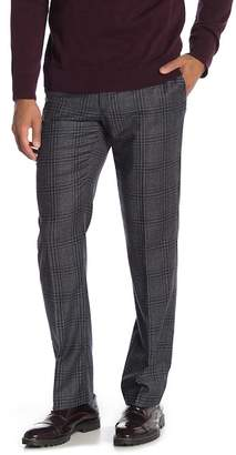 "Tommy Hilfiger Tan Black Plaid Wool Suit Separates Pants - 30-34"" Inseam"