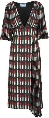 Prada Long Dress Lipstick