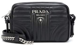 At Mytheresa Prada Diagramme Leather Crossbody Bag