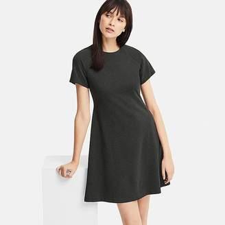 Uniqlo Women's Ponte Short-sleeve Dress