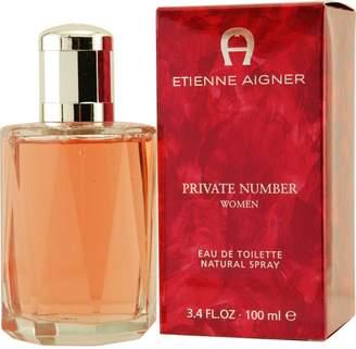 Etienne Aigner Private Number for Women, Eau De Toilette Spray 3.3 Ounce
